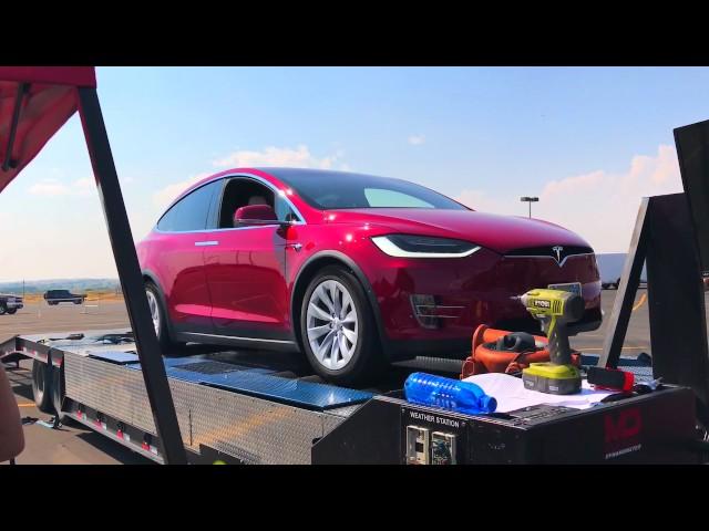 Tesla Model X 90D Dyno