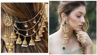 Top Stunning And Elegant Earrings Design With Saharey