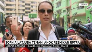 Video Sophia Latjuba Dampingi Ahok Resmikan RPTRA Marunda download MP3, 3GP, MP4, WEBM, AVI, FLV Juli 2018