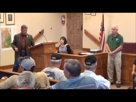 La Paz County Board Special Meeting 9-22-14 BLM Trail Closing Plan