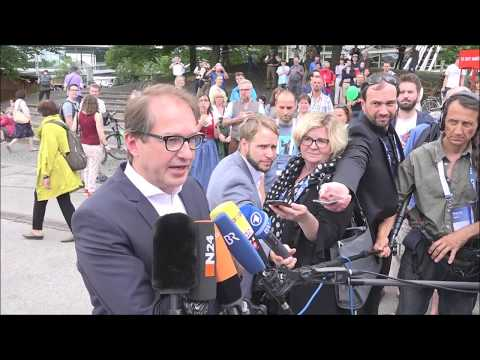 Alexander Dobrindt@CSU Bürgerfest mit Präsentation des Bayernsplans 23 07 2017 Teil X