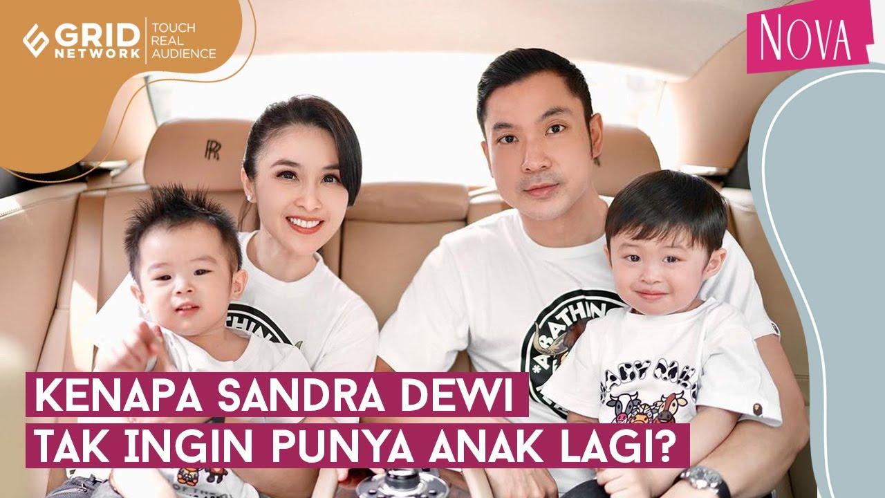 Alasan Sandra Dewi Tak Ingin Punya Anak Lagi