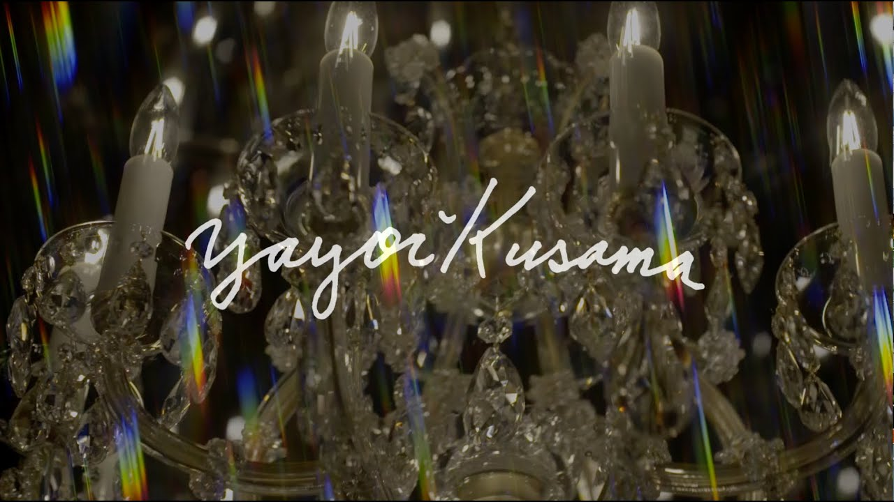 Yayoi Kusama at Victoria Miro | Chandelier of Grief - YouTube