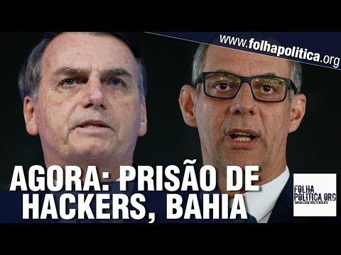 AGORA: General Rêgo Barros se pronuncia sobre prisão de hackers, Bahia e ANCINE - Gov. Bolsonaro