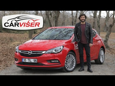 Opel Astra 1.6 CDTi 136 HP AT Test Sr Review English subtitled