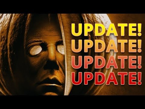 HALLOWEEN MOVIE UPDATE! NEW! Photos Of Michael Myers & Jamie Lee Curtis