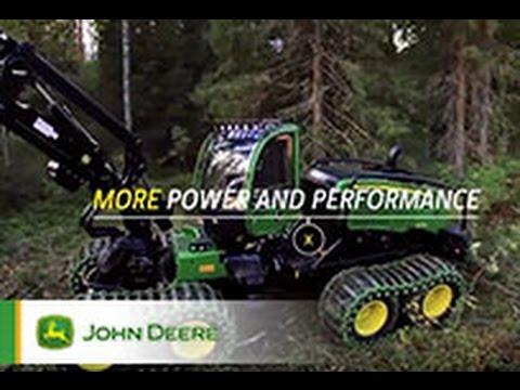 Der John Deere 8-Rad-Harvester 1270G