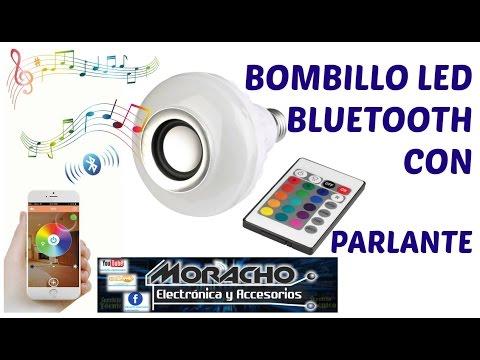 Bombillo Speaker Bluetooth |Music Bulb|