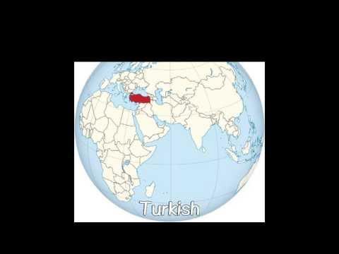 Asian Language sounds - (Western Asian) 3#