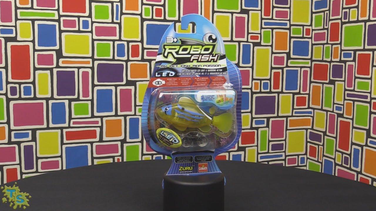 Robo Fish LED Fish by Zuru Lifelike Robotic Fish Review
