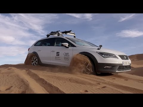 SEAT Leon X-Perience at the Sahara Desert
