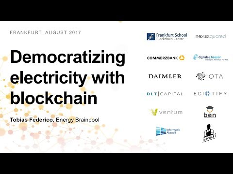 Democratizing electricity: demand-side management with blockchain (Tobias Federico)