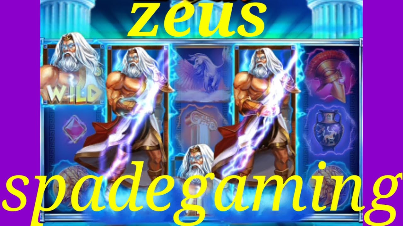 Slotonline Slots Slot Zeus Slots Spadegaming Youtube