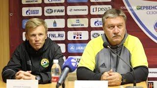 После матча: Николай Южанин и Евгений Калешин