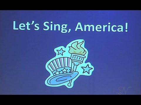 LET'S SING, AMERICA ! (2010) - Valley Christian Elementary School