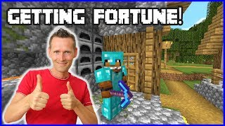 GETTING FORTUNE ON MY PICKAXE!!!