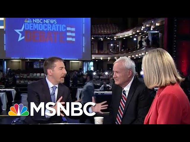 Full Matthews, Schriock: Warren Won Democratic Debate Night 1 | MTP Daily | MSNBC