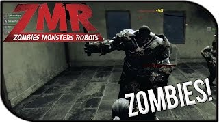 ZMR (Zombies Monsters Robots) Gameplay - Zombies + Winner! (Kill Every Thing on Shanghai Surprise)