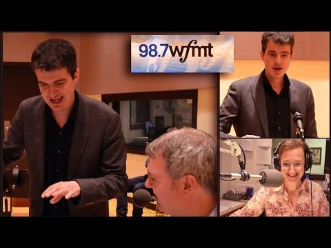 Philippe Jaroussky sings live at the wfmt Studio Chicago