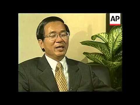 TAIWAN: TAIPEI: PRESIDENT CHEN SHUI-BIAN TV INTERVIEW