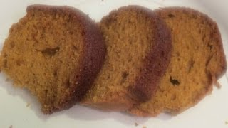 How To Make Delicious Pumpkin Bread!