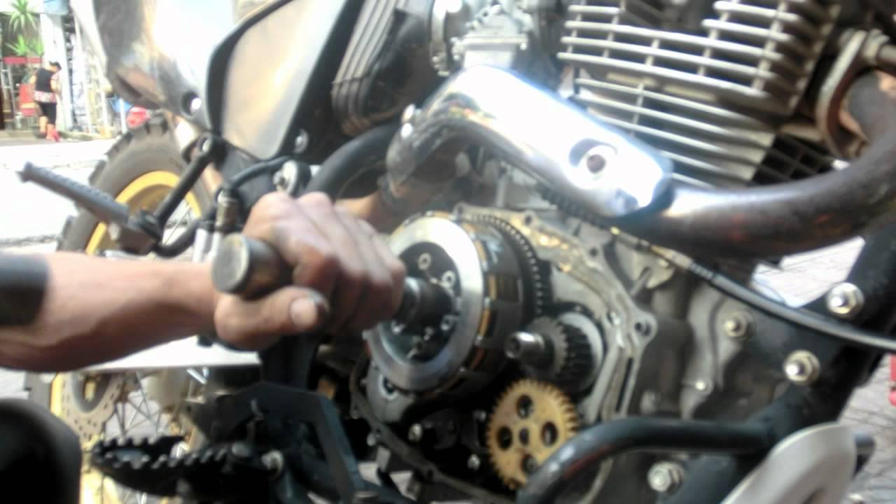 Motorcycle repair  Repairing a clutch  YouTube