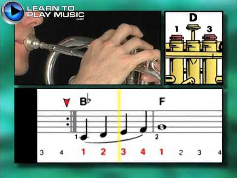Ex022 How to Play Trumpet - Trumpet Lessons for Beginners - 동영상
