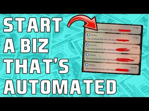 How To Start An AUTOMATED Online Business! (FULL PROCESS REVEALED) thumbnail