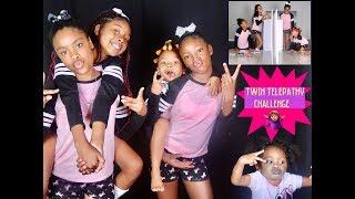 Twin Telepathy Challenge.. Girls/Family Edition
