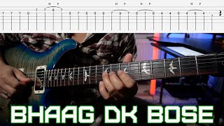 BHAAG DK BOSE  Delhi Belly  Guitar Lesson with tabs