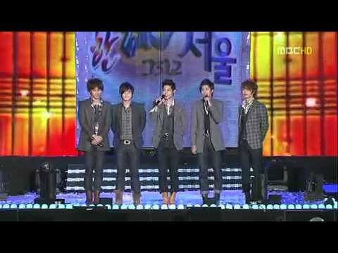 SS501 - Love Like This & A Song Calling For You at visit korea year 2010 concert