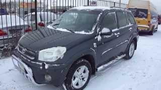 2005 Тойота Рав 4. Обзор (интерьер, экстерьер)