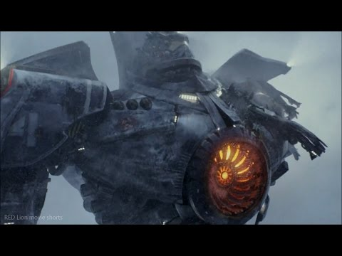 Pacific Rim (2013) - Gipsy Danger crashing scene (1080p) FULL HD