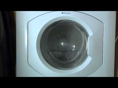 Hotpoint Futura HF8B593 Washing Machine : Cotton Final spin 1500rpm (10/10)