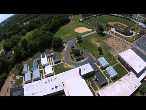 Buies Creek Elementary School Flyover (Rhett and Link's school)