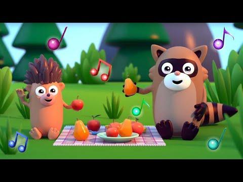Веселые детские песенки - Лодочка - Музыкальные мультики Сина и Ло