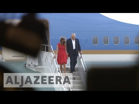 US: Trump's weekend trips rattle Palm Beach residents