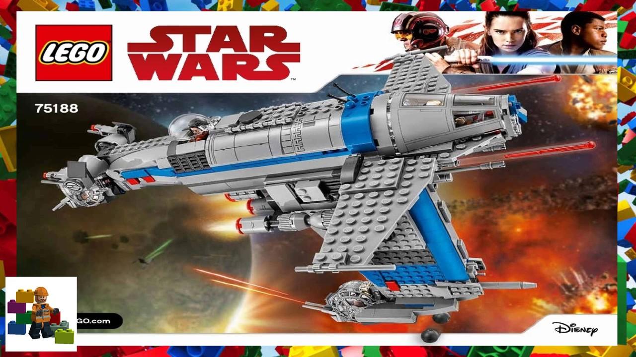 lego resistance bomber instructions
