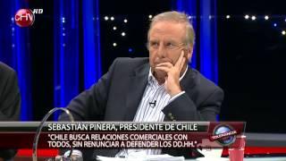 Sebastián Piñera en Tolerancia Cero 26/05/13