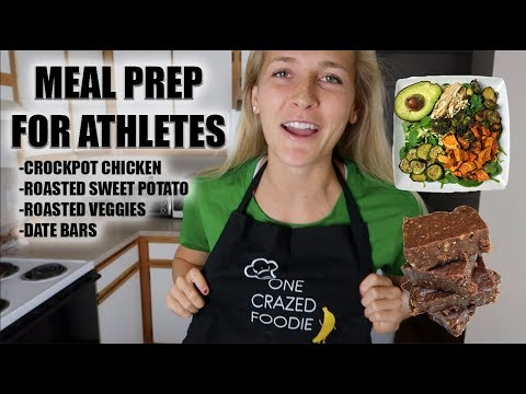 MEAL PREP FOR ATHLETES | Cooking with Emma