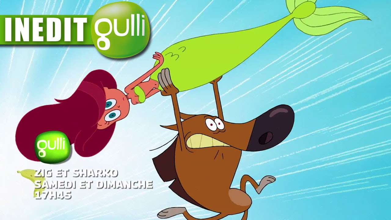 The gallery for zig and sharko sharko - Zig et charcot ...