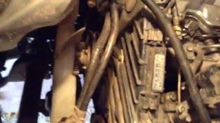 ремонт тойота таун эйс 1992 года выпуска.88 лс  турбодизель 2 литра (6) подчасть