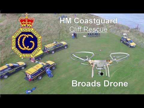 HM Coastguard Cliff Rescue Demo