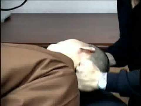 疼痛原始點療法--頭部 - YouTube