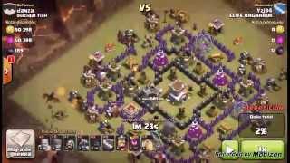 Estrategia Clash of Clans: Ataque con montapuercos