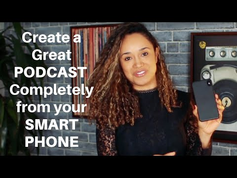 🎙📱 How To Start A Podcast On Your Phone | Anchor Podcast Tutorial (2020)