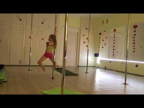Pole dance kids