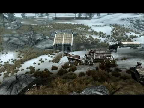 Skyrim: Hearthfire DLC - Finished House |