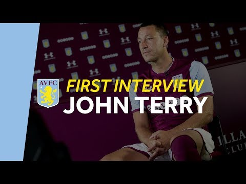 New signing: John Terry - the first interview