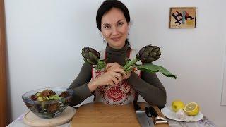 Как правильно чистить и готовить артишоки | Нюансы и секреты(https://www.instagram.com/mariialedda/ - Я в Инста http://www.marialedda.com/subscribe-marafon/#kulinar2 - Запишитесь на мой Кулинарный Марафон ..., 2016-03-20T10:51:58.000Z)